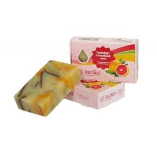 AsiaKiss Натуральное мыло с пчелиным воском и грейпфрутом
