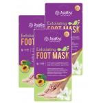 AsiaKiss Маска-Носки ОТШЕЛУШИВАЮЩАЯ (Пилинг), для ног