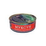 Муксун обжаренный в томатном соусе, ГОСТ. Вес 240 гр.