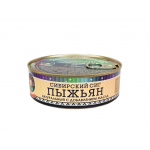 Пыжьян (Сиг) натуральный с добавлением масла, ГОСТ. Вес 240 гр.