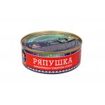 Ряпушка натуральная в томатном соусе, ГОСТ. Вес 240 гр.